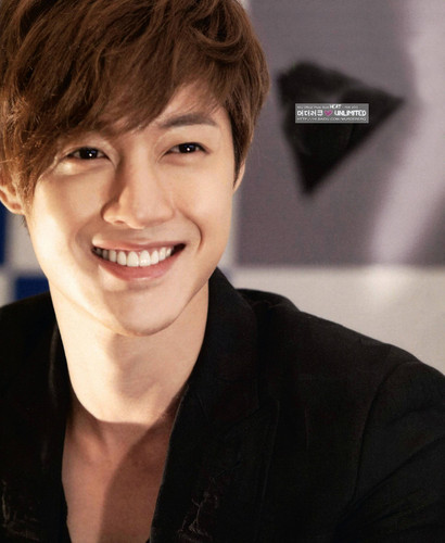 Kim Hyun Joong wallpaper probably containing a portrait called Kim Hyun Joong<3