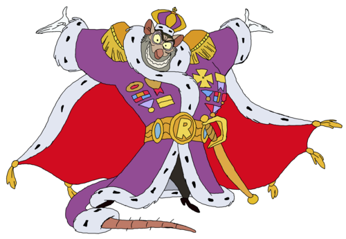 The Great chuột Detective hình nền containing anime called King Ratigan