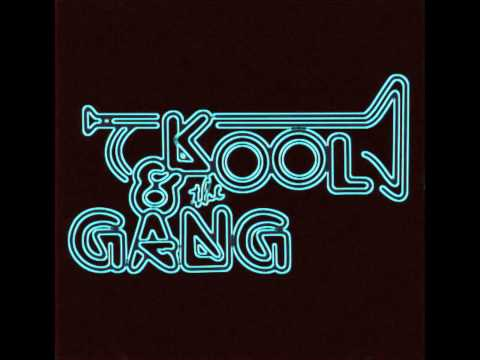 Classic RB Music Wallpaper With A Sign Titled Kool And The Gang Logo