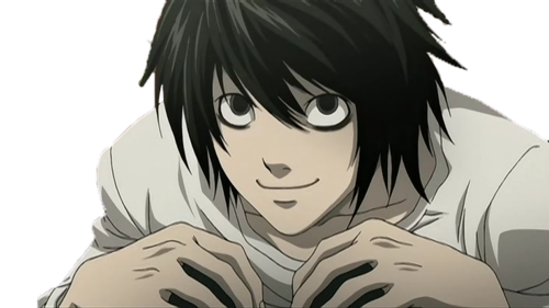 death note wallpaper probably with anime entitled l Lawliet