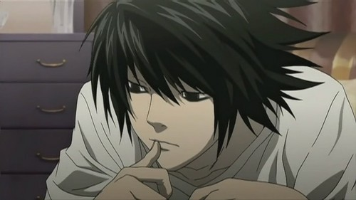 Death Note wallpaper entitled L Lawliet