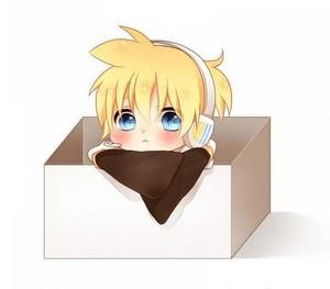 Len in a box