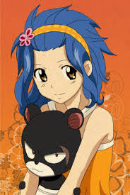 Levy my favourite fairy tail girl