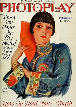 Louise Brooks for Photoplay