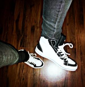 愛 my new shoes