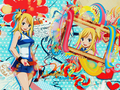 Lucy Heartfilia~! - fairy-tail wallpaper