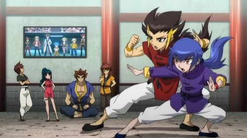 Beyblade Metal Fusion wallpaper probably with anime called MFB Zero-G
