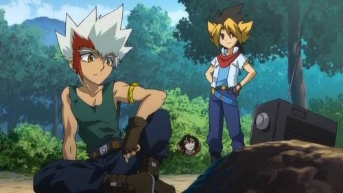 Beyblade Metal Fusion kertas dinding possibly with Anime called MFB Zero-G