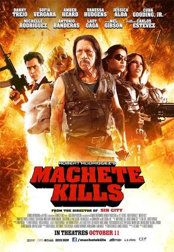 Machete kertas dinding containing Anime called Machete Kills Poster