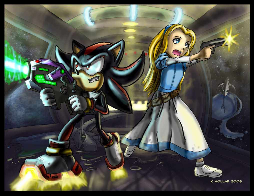 Maria's Revenge - Shadow The Hedgehog Photo (35743861 ...