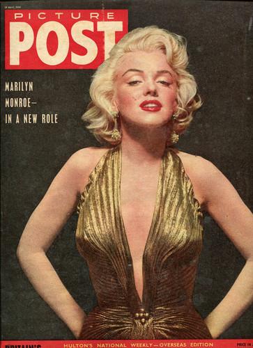 """マリリン・モンロー 壁紙 probably containing アニメ called Marilyn On The Cover Of """"Picture Post"""" Magazine"""