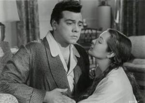 Mario Lanza and Sara Montiel