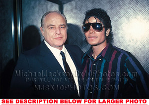 Marlon Brando And Michael Jackson