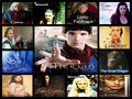 Merlin character collage - merlin-on-bbc fan art