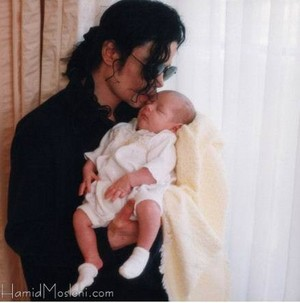 Michael And Baby Paris