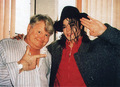 Michael And Benny Hill - michael-jackson photo