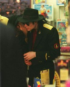 Michael And Lisa Marie In Paris Back In 1994