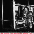 Michael Backstage During History Tour - michael-jackson photo