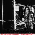 Michael Backstage During History Tour - michael-jackson photo