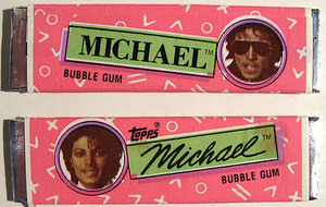 Michael Jackson Chewing Gum