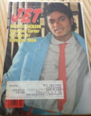 "Michael On The Cover Of The 1983 Issue Of ""JET"" Magazine"