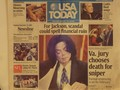 "Michael On The Frontpage Of ""USA TODAY"" - michael-jackson photo"