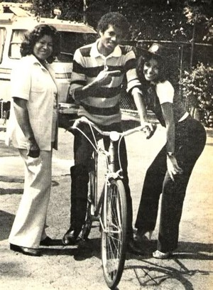 Michael With His Family Back In 1979