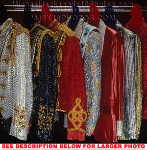 Michael's Assortment Of Custom-Made Military Jackets