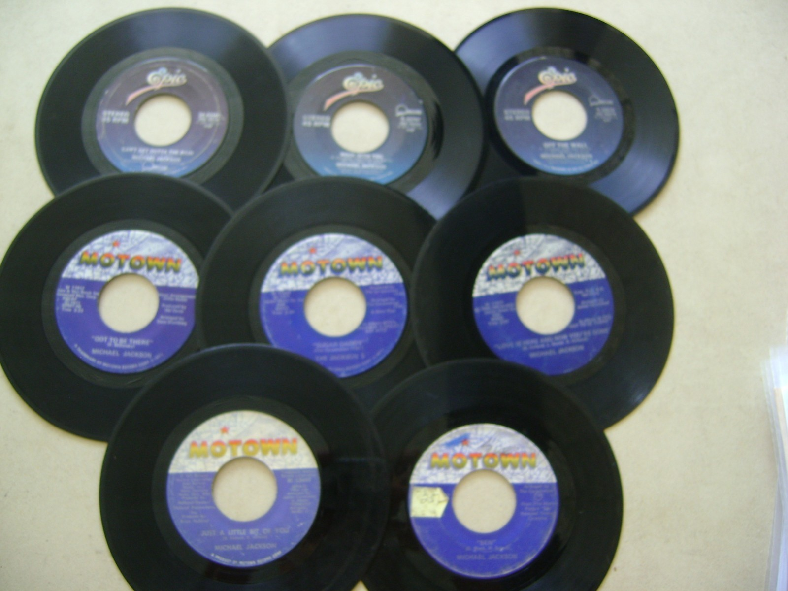 Michael's Assortment Of Hit Songs On 45RPM