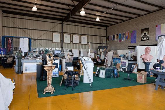 Michael's Private Art Studio