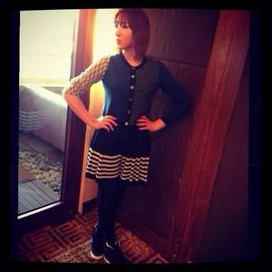 "Minzy's Instagram Update: ""IN Hongkong ;) nice lunch!"" (131006)"