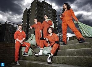 Misfits - Season 5 - Cast Promotional चित्रो