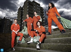 Misfits - Season 5 - Cast Promotional fotos