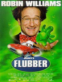 "Movie Poster For The 1997 Disney Film, ""Flubber"""