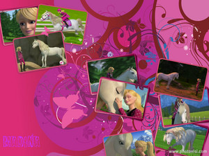 My Barbie and Majesty Collage