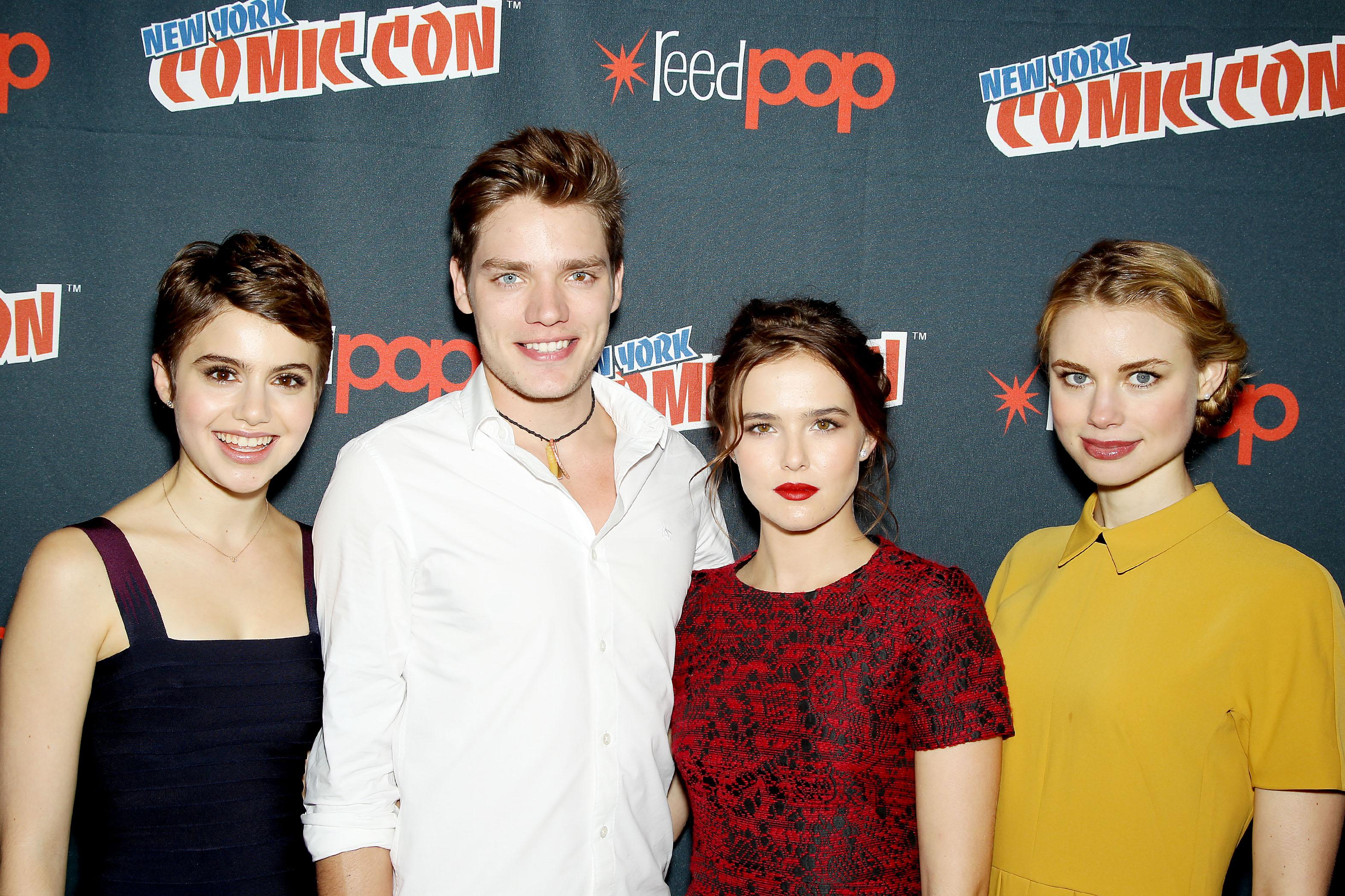 NY Comic Con 2013 - Dominic, Zoey, Lucy & Sami