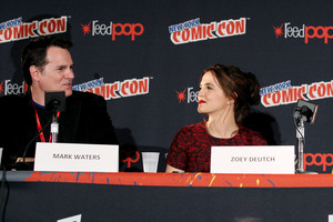 NY Comic Con 2013 - Zoey Deutch & Mark Waters