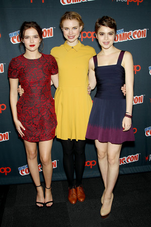 NY Comic Con 2013 - Zoey, Lucy & Sami