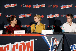 NY Comic Con 2013 - Zoey, Lucy and Dominic