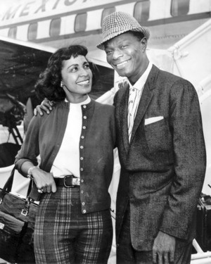 """Nat """"King"""" Cole And một giây Wife, Maria"""