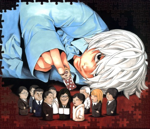Death Note achtergrond possibly containing anime entitled Near