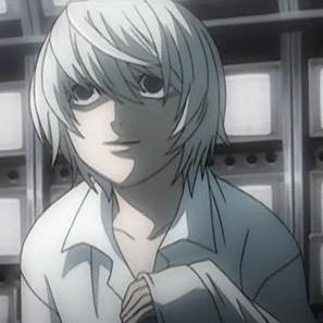 Death Note achtergrond probably containing a breastplate and anime titled Near