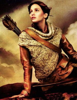 New promotional picture of Katniss - Catching 불, 화재 2013