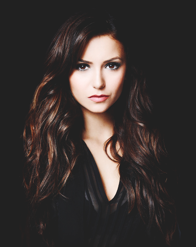 Katherine Pierce karatasi la kupamba ukuta entitled Nina Dobrev -The Vampire Diaries Season 5 promotional shoot