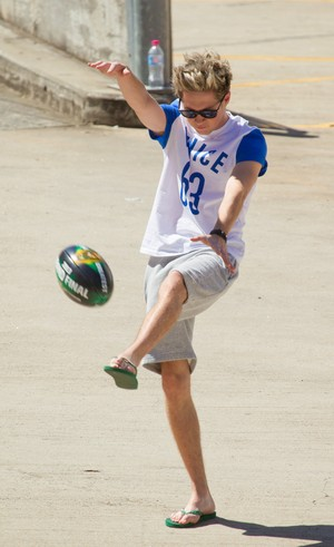 October 6th - One Direction outside of the Allphones Arena in Sydney, Australia