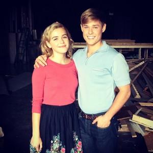 On Set: Mason and Kiernan