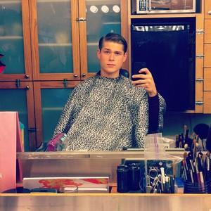 On Set: Mason in makeup