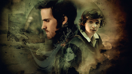 Once Upon A Time wallpaper with a concert titled Killian Jones & Baelfire