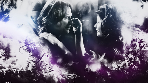 Once Upon A Time wallpaper probably containing a concert entitled Mr. Gold & Belle