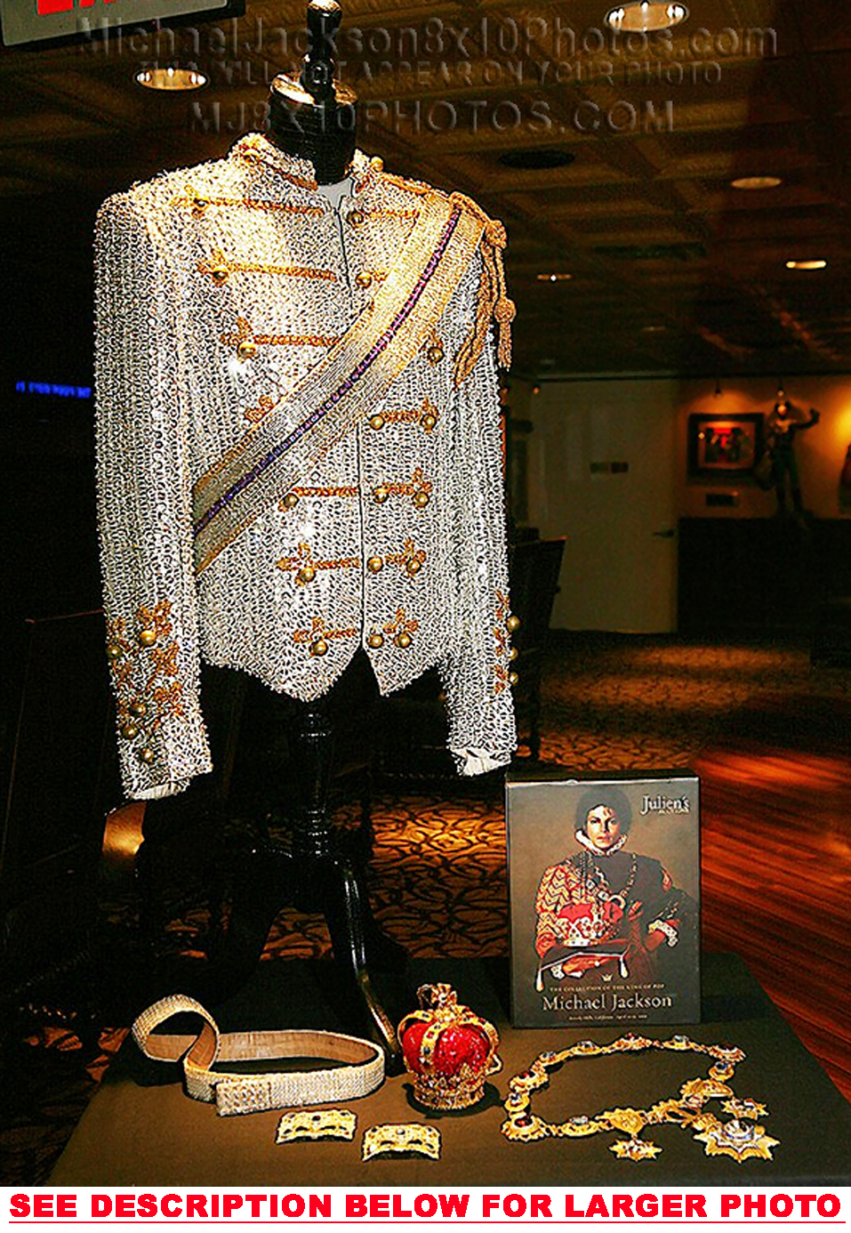 One Of Michael's Custom-Made Military Jackets